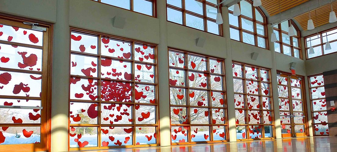 Cultural Events:  Gum Hearts Art Installation by Hiromi Niizeki